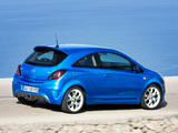 Opel Corsa OPC (D) 2007–10 pictures