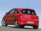 Opel Corsa GSi (D) 2008–10 photos