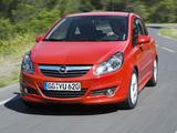 Opel Corsa GSi (D) 2008–10 wallpapers