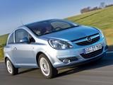 Opel Corsa 3-door ecoFLEX (D) 2009–10 images