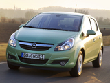 Opel Corsa 5-door ecoFLEX (D) 2009–10 images
