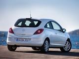 Opel Corsa 3-door (D) 2009–10 images