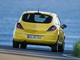 Opel Corsa 3-door (D) 2009–10 photos