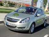 Opel Corsa 3-door ecoFLEX (D) 2009–10 photos