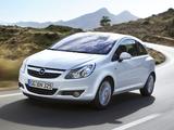 Opel Corsa 3-door (D) 2009–10 pictures