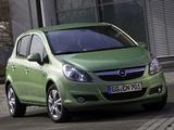 Opel Corsa 5-door ecoFLEX (D) 2009–10 pictures