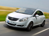 Opel Corsa Color Edition 3-door (D) 2009 wallpapers