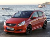 Opel Corsa Color Edition 5-door (D) 2009 wallpapers