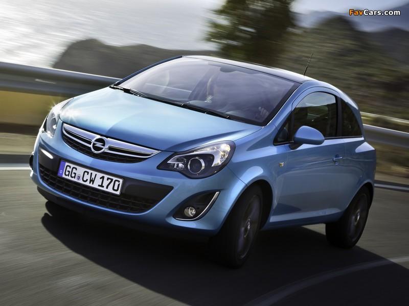 Opel Corsa Color Edition 3-door (D) 2010 photos (800 x 600)