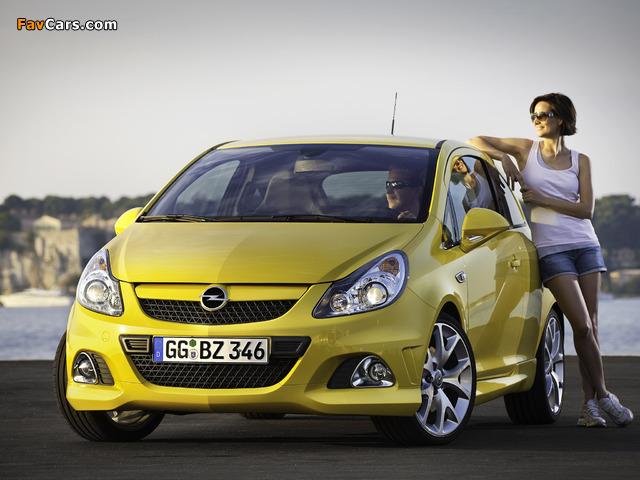 Opel Corsa OPC (D) 2010 photos (640 x 480)
