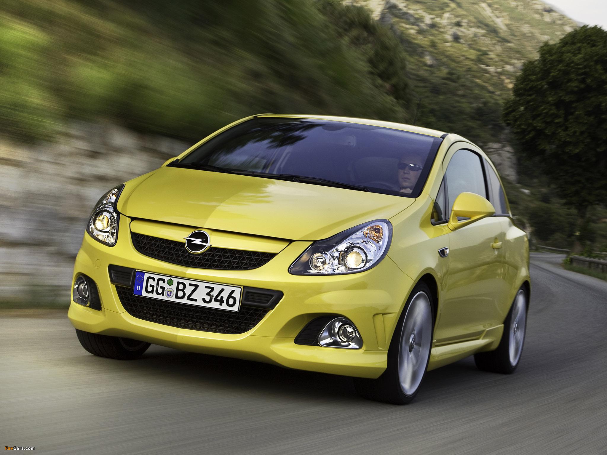 Opel Corsa OPC (D) 2010 photos (2048 x 1536)