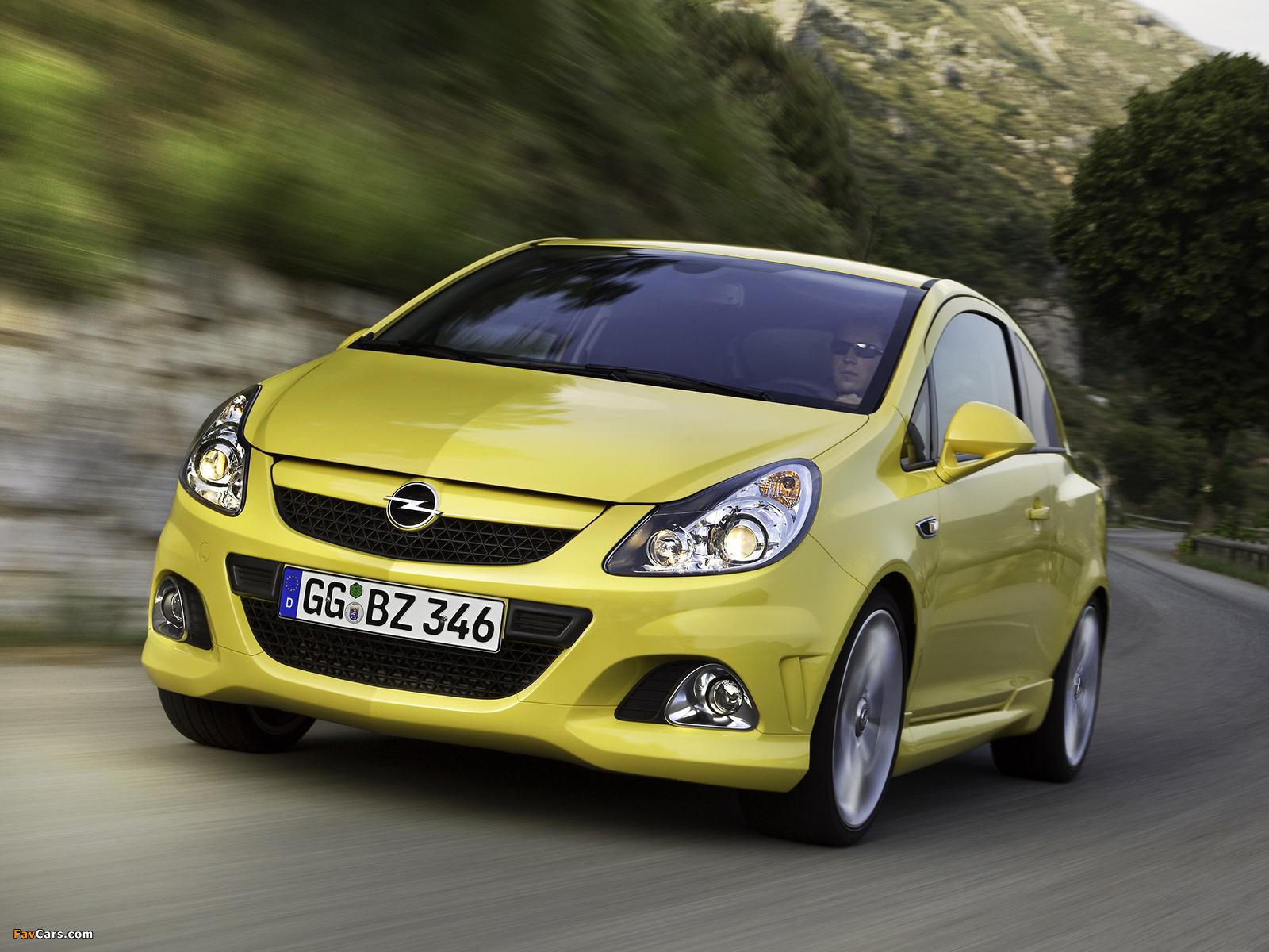 Opel Corsa OPC (D) 2010 photos (1600 x 1200)