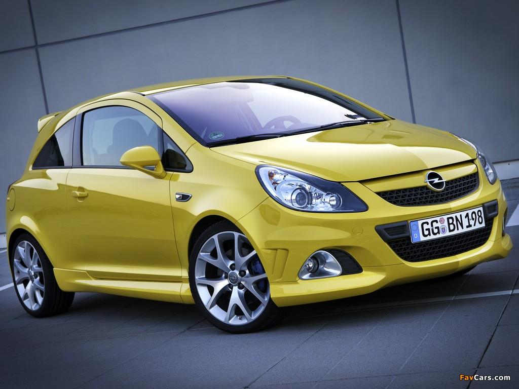 Opel Corsa OPC (D) 2010 photos (1024 x 768)
