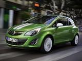 Opel Corsa Linea 3-door (D) 2010 pictures