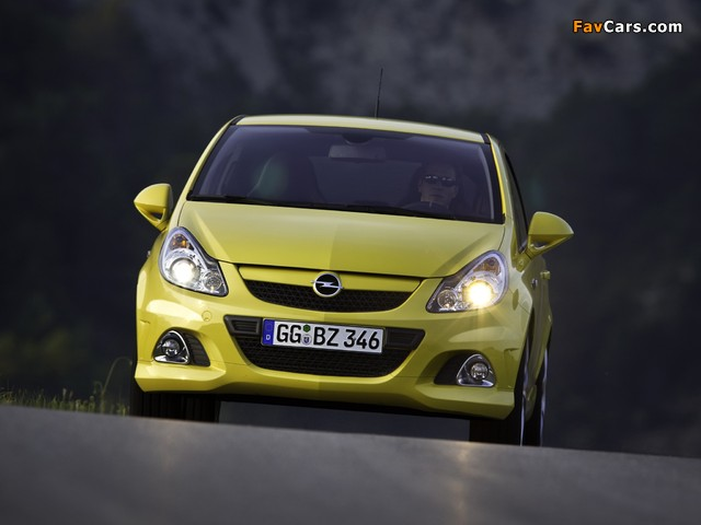 Opel Corsa OPC (D) 2010 pictures (640 x 480)