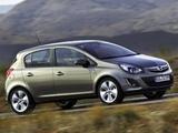 Opel Corsa 5-door (D) 2010 pictures