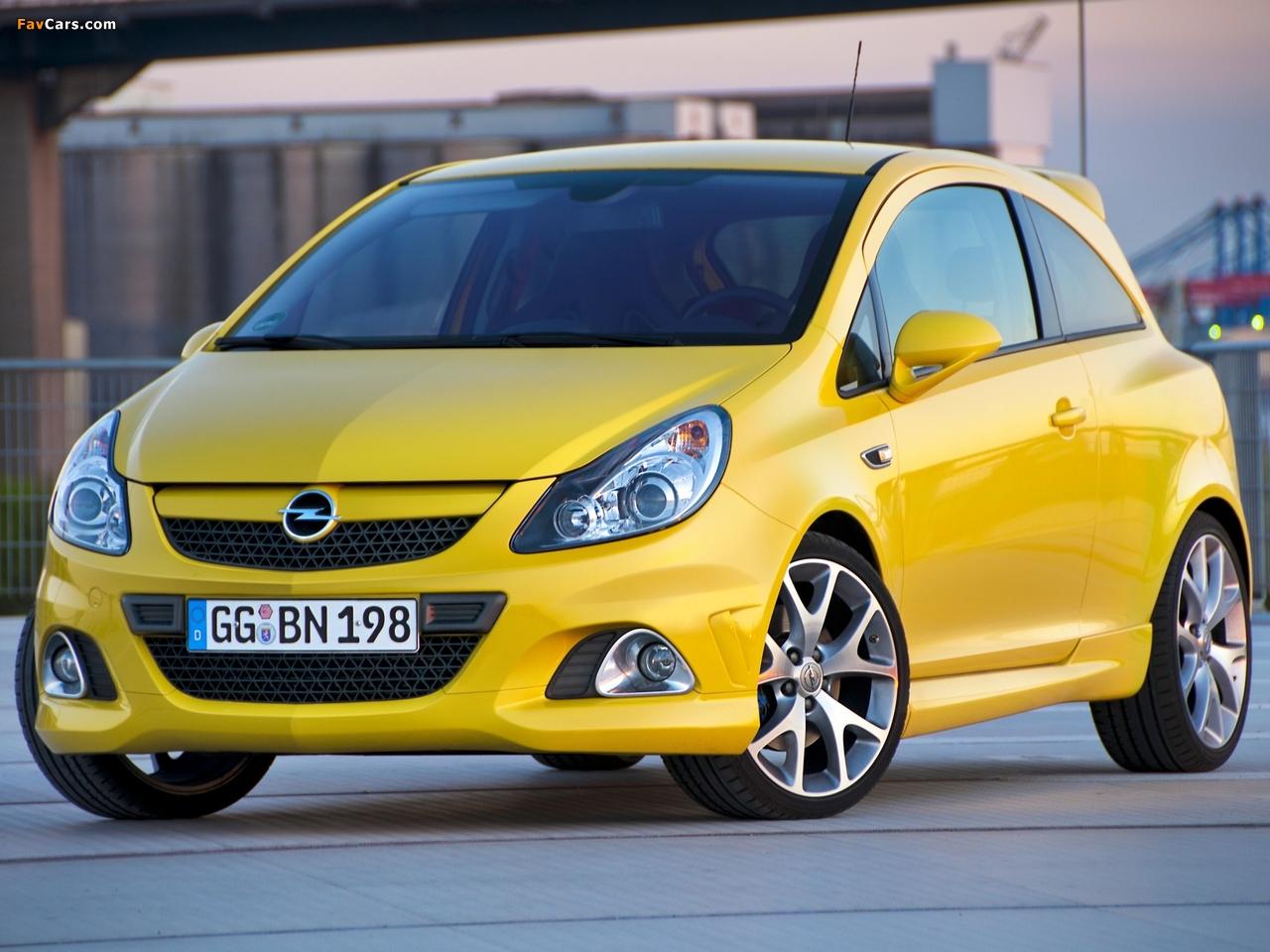 Opel Corsa OPC (D) 2010 wallpapers (1280 x 960)