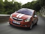 Opel Corsa Stripes (D) 2010 wallpapers