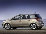 Opel Corsa 5-door (D) 2010 wallpapers