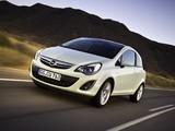 Opel Corsa 3-door (D) 2010 wallpapers
