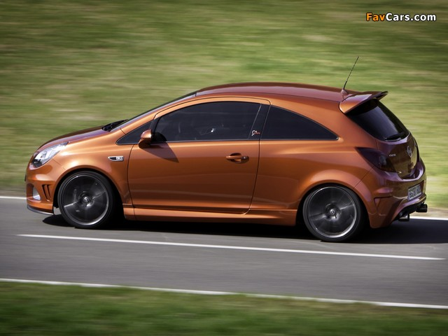 Opel Corsa OPC Nürburgring Edition (D) 2011 photos (640 x 480)