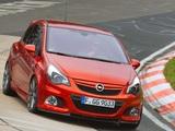 Opel Corsa OPC Nürburgring Edition (D) 2011 photos