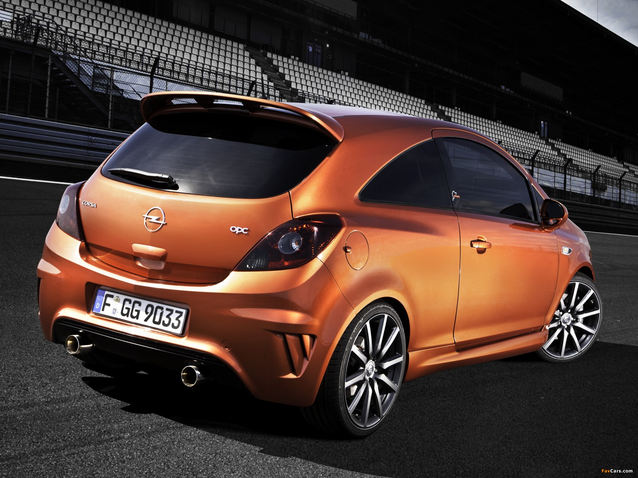 Opel Corsa OPC Nürburgring Edition (D) 2011 pictures (2048 x 1536)