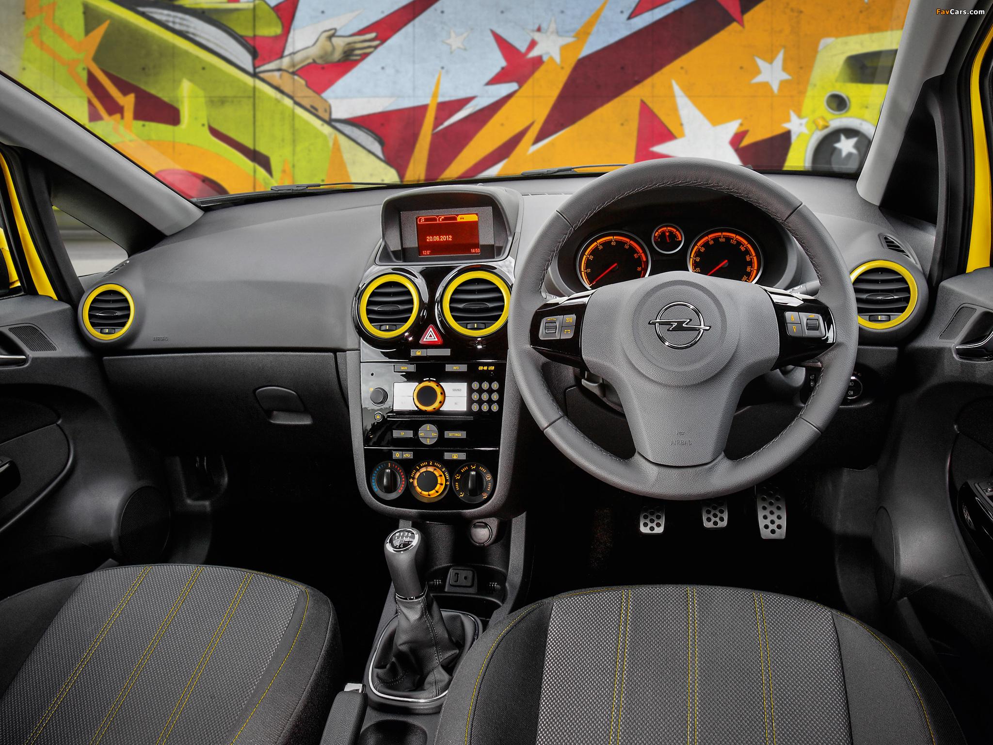 Opel Corsa Color Edition 3-door AU-spec (D) 2012–13 images (2048 x 1536)
