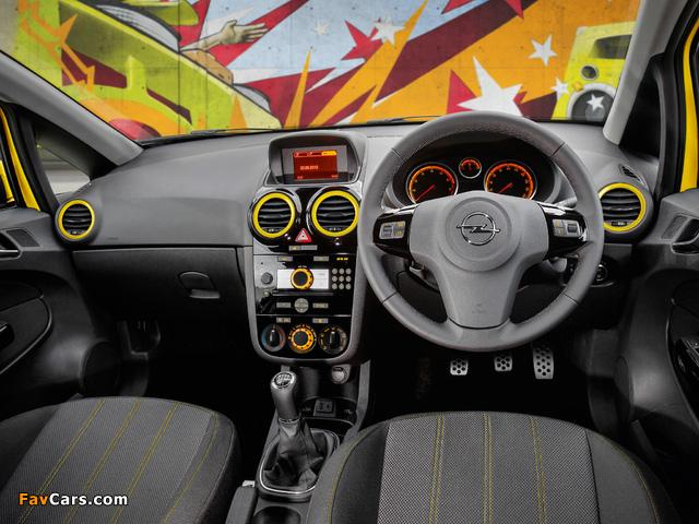 Opel Corsa Color Edition 3-door AU-spec (D) 2012–13 images (640 x 480)