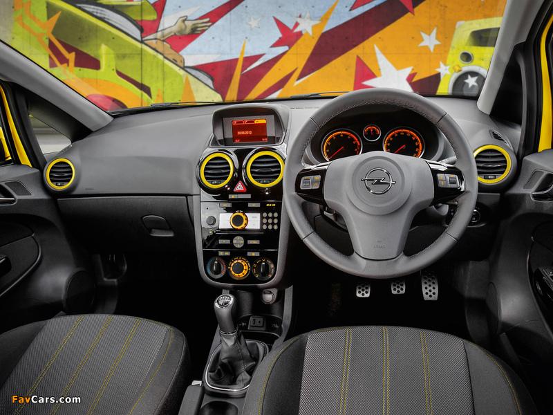 Opel Corsa Color Edition 3-door AU-spec (D) 2012–13 images (800 x 600)