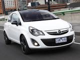 Opel Corsa Color Edition 3-door AU-spec (D) 2012–13 pictures