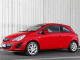 Opel Corsa 3-door AU-spec (D) 2012–13 pictures