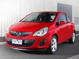 Opel Corsa 3-door AU-spec (D) 2012–13 wallpapers