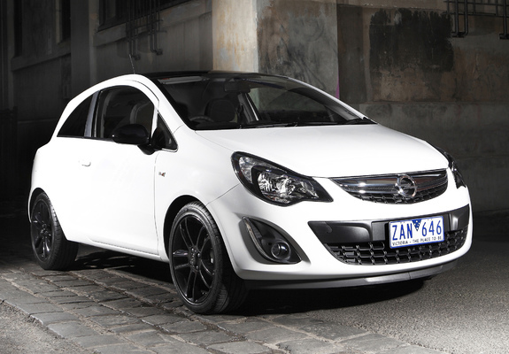 opel corsa color edition 3 door au spec d 2012 13 wallpapers. Black Bedroom Furniture Sets. Home Design Ideas