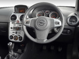 Opel Corsa Turbo 5-door ZA-spec (D) 2013 images
