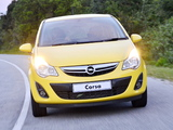 Opel Corsa Turbo 5-door ZA-spec (D) 2013 photos