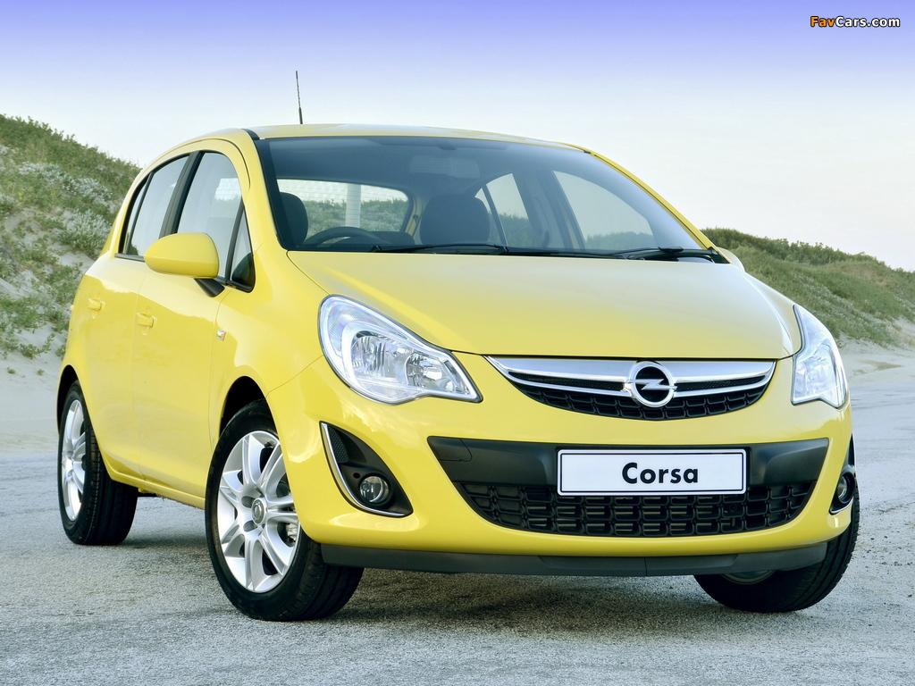 Opel Corsa Turbo 5-door ZA-spec (D) 2013 photos (1024 x 768)