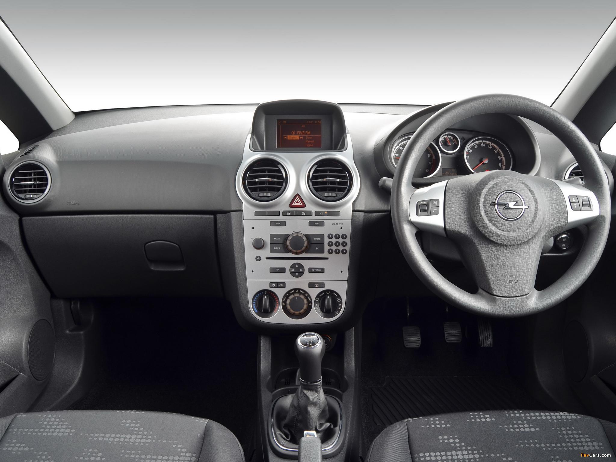 Opel Corsa Turbo 5-door ZA-spec (D) 2013 wallpapers (2048 x 1536)
