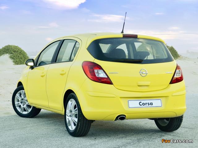 Opel Corsa Turbo 5-door ZA-spec (D) 2013 wallpapers (640 x 480)