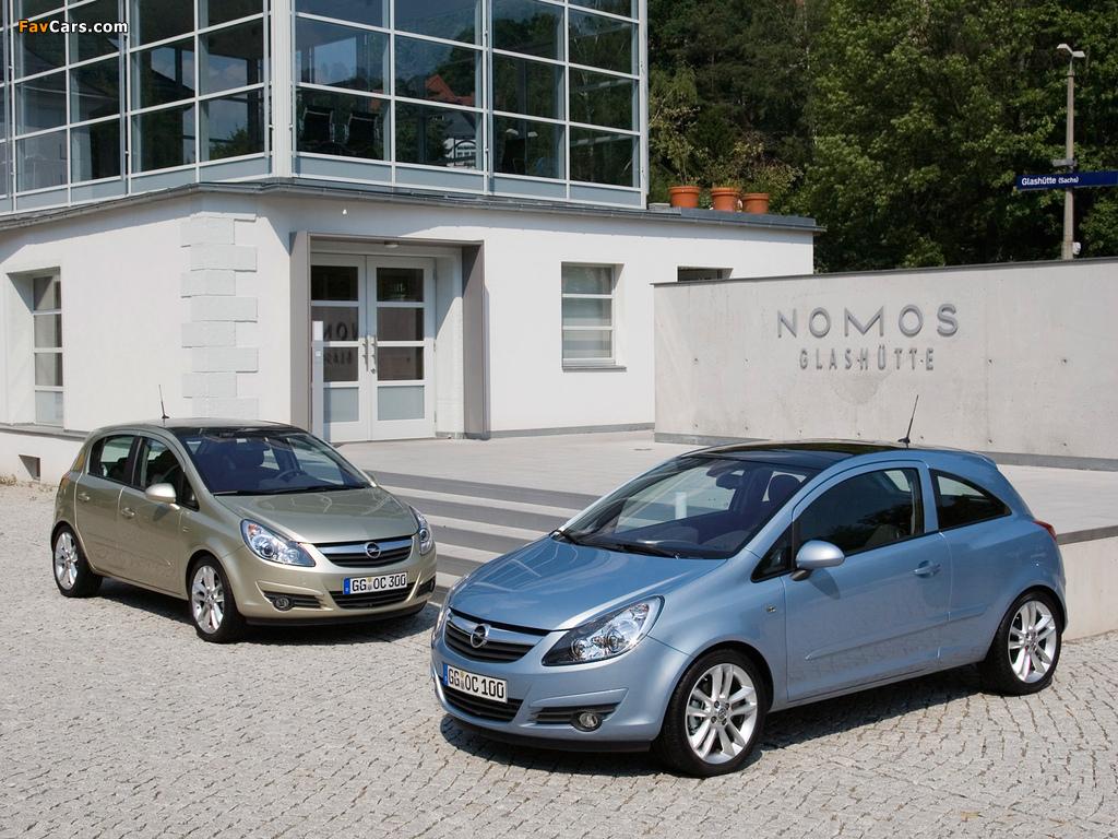 Opel Corsa photos (1024 x 768)