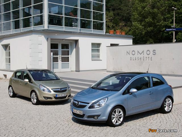 Opel Corsa photos (640 x 480)