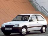 Photos of Opel Corsa 3-door (A) 1990–93
