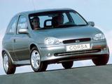 Photos of Opel Corsa GSi (B) 1993–2000