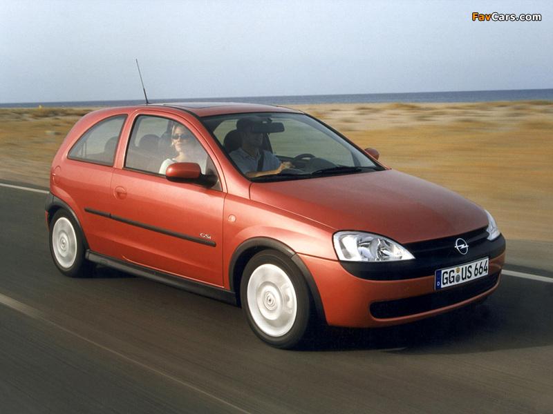 Photos of Opel Corsa GSi (C) 2000–06 (800 x 600)