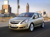 Photos of Opel Corsa 5-door (D) 2006–09