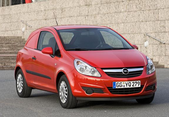 Photos Of Opel Corsavan D 2007