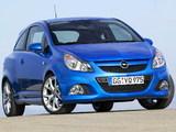 Photos of Opel Corsa OPC (D) 2007–10