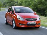 Photos of Opel Corsa GSi (D) 2008–10