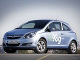 Photos of Opel Corsa 3-door ecoFLEX (D) 2009–10