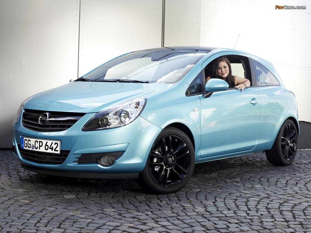 Photos of Opel Corsa Color Edition 3-door (D) 2009 (1024 x 768)